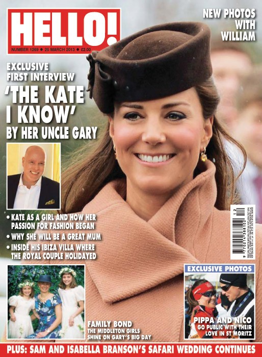 Kate Middleton HELLO! Cover