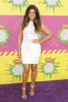 Actress Khloe Kardashian arrives at the 2013 Kids Choice Awards in Los Angeles, California March 23, 2013.