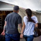 Jesse James and his wife Alexis DeJoria