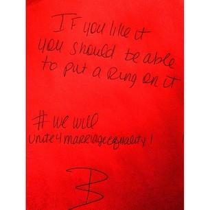 Beyonce's Post