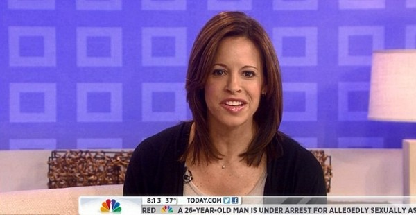 "Jenna Wolfe on NBC's ""Today"" show March 27, 2013."