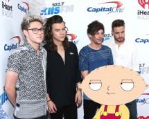 One Direction & Stewie