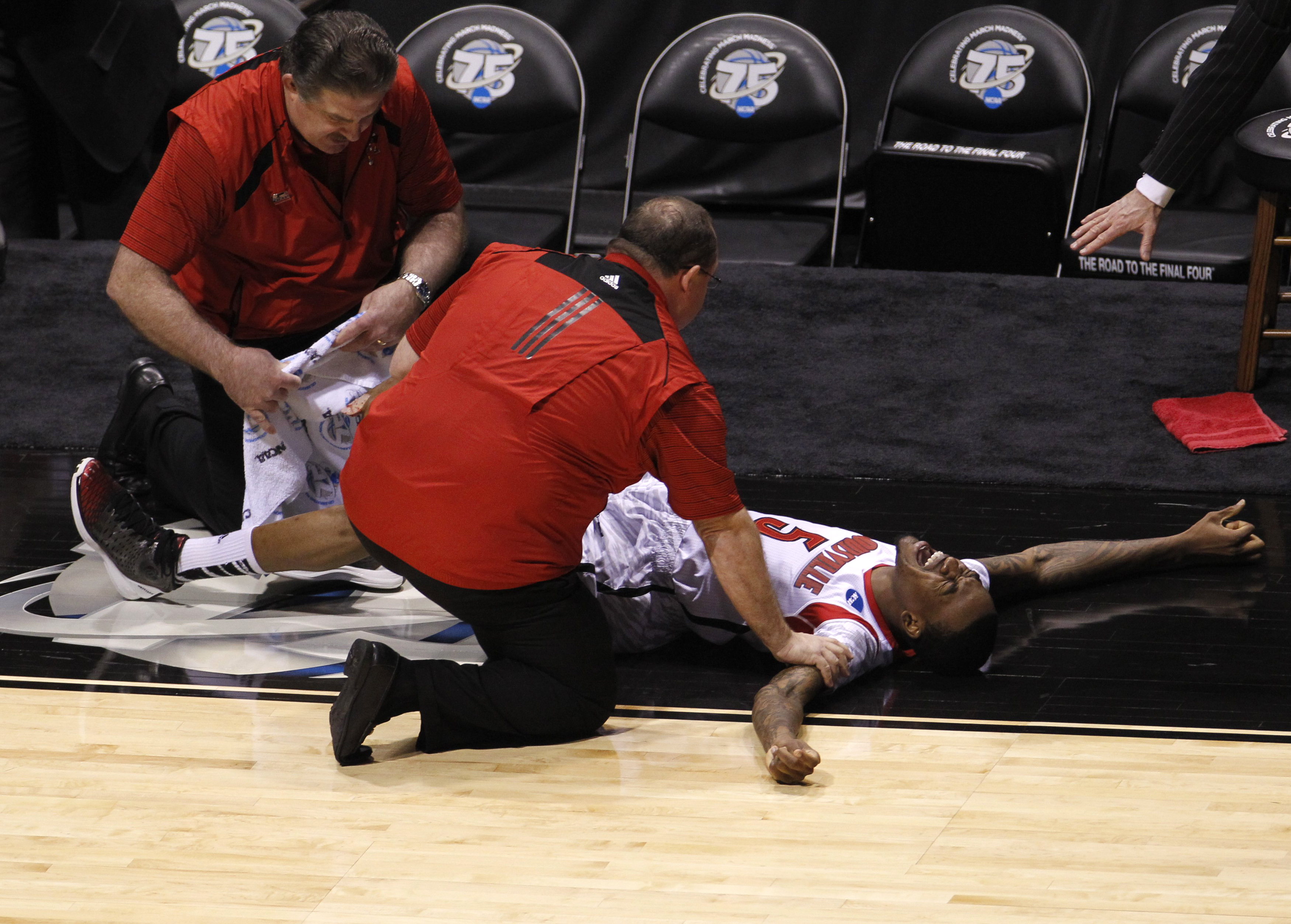 Kevin Ware Injury Video