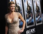 "Cast member Adrianne Palicki poses at the premiere of ""G.I. Joe: Retaliation"" in Hollywood, California March 28, 2013. The movie opens in the U.S. on March 28."