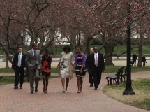 First Family on Easter