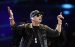 Puerto Rican reggaeton singer Daddy Yankee performs during the 54th International Song Festival in Vina del Mar, about 121km (75 miles) northwest of Santiago, February 26, 2013.