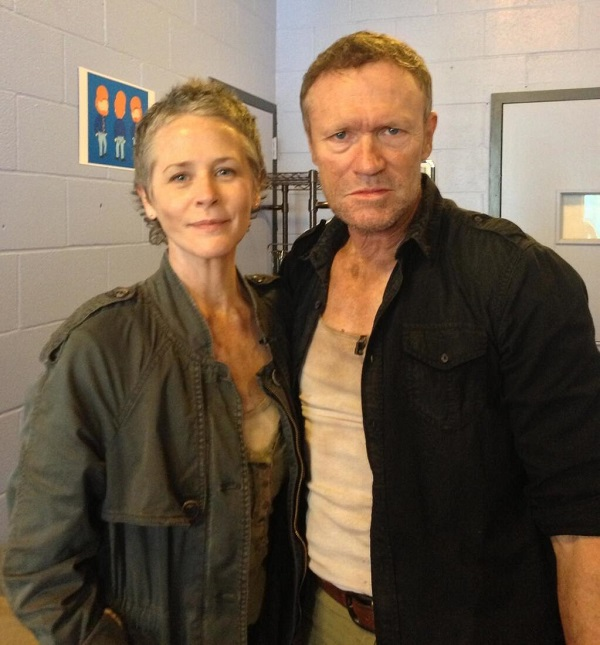 Melissa Mcbride And Michael Rooker