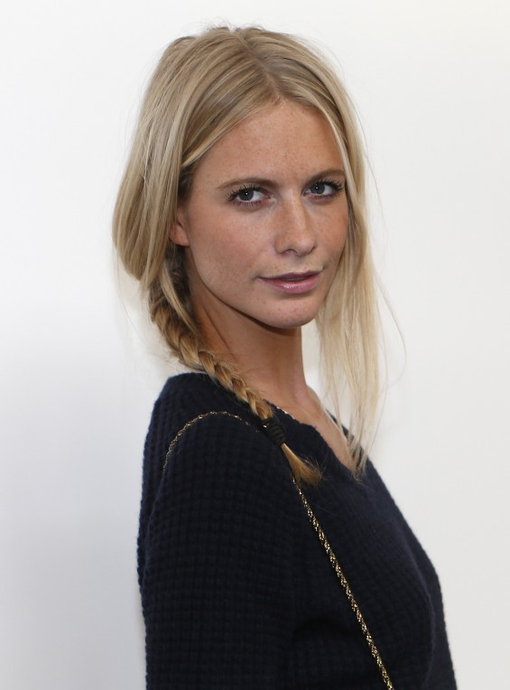 British model and socialite Poppy Delevingne arrives for the House of ...