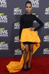 Actress Kerry Washington poses as she arrives at the 2013 MTV Movie Awards in Culver City, California April 14, 2013.
