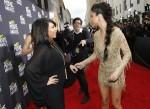 Selena Gomez [right] and Kim Kardashian