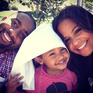 Jas Prince, Violet and  Christina Milian