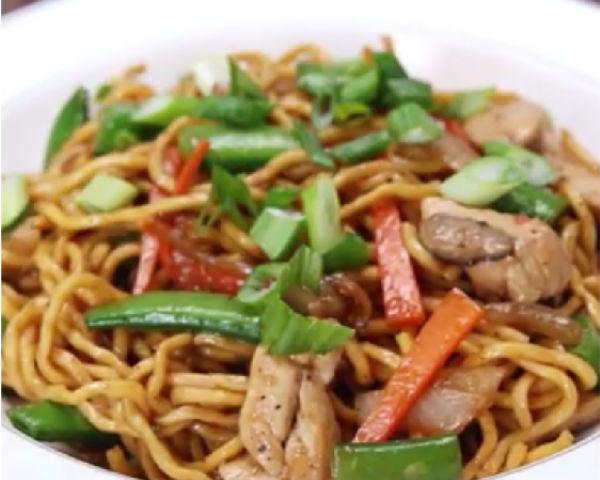 chinese lo mein chicken recipe