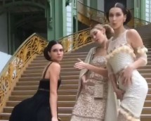 Kendall Jenner, Gigi Hadid & Bella Hadid Twerk At Fashion Week