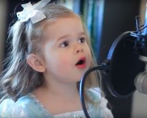 Claire Sings 'Part Of Your World'