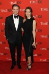 Justin Timberlake and Jessica Biel arrive at the Time 100 gala celebrating the magazine's naming of the 100 most influential people in the world for the past year, in New York, April 23, 2013.