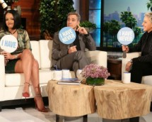 Ellen DeGeneres Plays 'Never Have I Ever' With George Clooney & Rihanna
