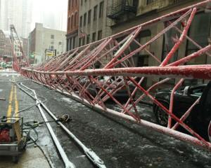 Crane Collapse in Lower Manhattan