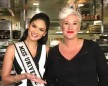 Pia Wurtzbach Uses Culinary Degree To Make Superbowl Treats