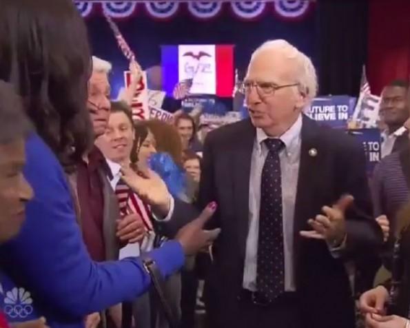 Larry David Spoofs Bernie Sanders On 'SNL'