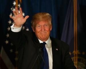 Donald Trump in New Hampshite