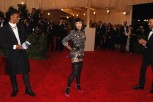 "Singer Madonna arrives at the Metropolitan Museum of Art Costume Institute Benefit celebrating the opening of ""PUNK: Chaos to Couture"" in New York, May 6, 2013."