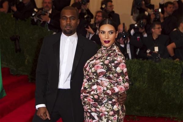 Kim Kardashian and K