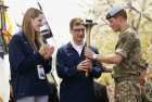 Britain&#039;s Prince Harry at the opening ceremony of the Warrior Games.