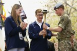 Britain's Prince Harry at the opening ceremony of the Warrior Games.