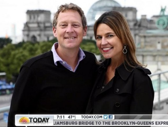 Michael Feldman and Savannah Guthrie