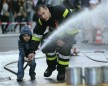 Firefighter Cheers Up A Lonely Kid At School