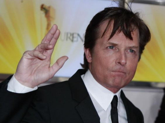 U.S. actor Michael J. Fox arrives on the red carpet for the 46th 'Goldene Kamera' (Golden Camera) awards ceremony at the Ullstein Auditorium in Berlin, February 5, 2011.