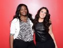 Candice Glover and Kree Harrison (right)