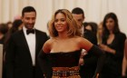 Singer Beyonce arrives at the Metropolitan Museum of Art Costume Institute Benefit celebrating the opening of &#034;PUNK: Chaos to Couture&#034; in New York, May 6, 2013.