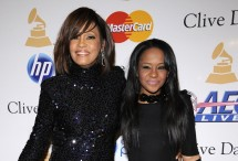 Photo Credit: Reuters/Phil McCarten - Whitney Houston attends the Pre-Grammy Gala & Salute to Industry Icons with Clive Davis with her daughter Bobbi Christina in Beverly Hills, California February 12, 2011.