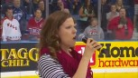 Viral Video: Canadian Jazz Singer Butchering &#034;The Star Spangled Banner&#034; [VIDEOS]