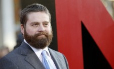 Zach Galifianakis' Brings Formerly Homeless Elderly Friend To 'Hangover 3' Premiere