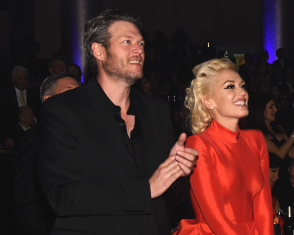 Gwen Stefani Squirms on Ellen, Reveals How Blake Shelton