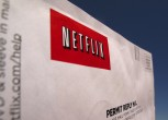 A Netflix return CD mail envelope is shown in Encinitas, California, April 19,2013.
