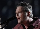 "Blake Shelton performs ""Sure Be Cool If You Did"" at the 48th ACM Awards in Las Vegas, April 7, 2013."