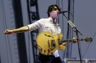 Ezra Koenig of Vampire Weekend performs during the Coachella Music Festival in Indio, California April 14, 2013.