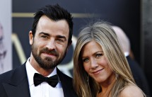 Jennifer Aniston & Justin Theroux Reunite in New York City