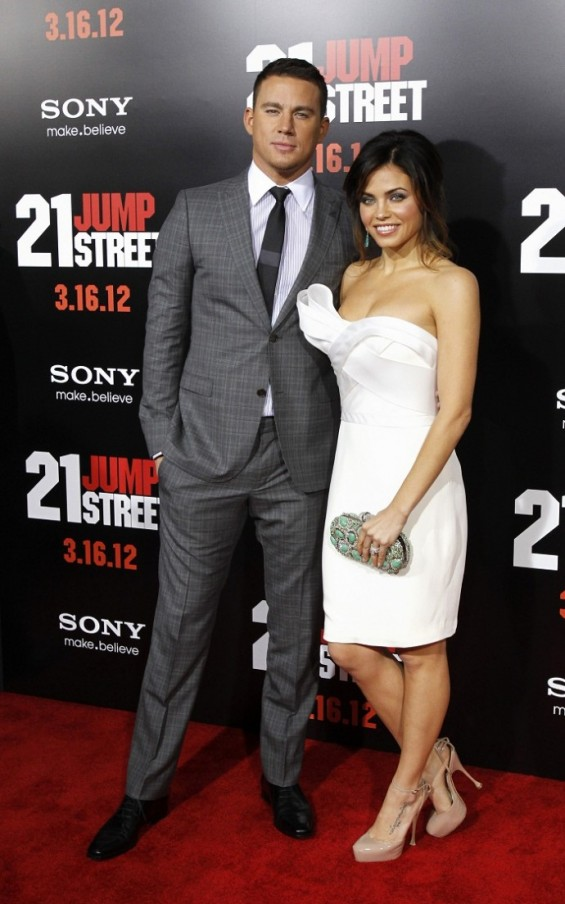 Channing Tatum and his wife