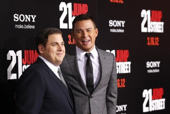 Jonah Hill (L) and Channing Tatum