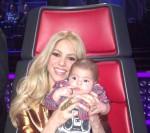 Shakira & Baby Milan