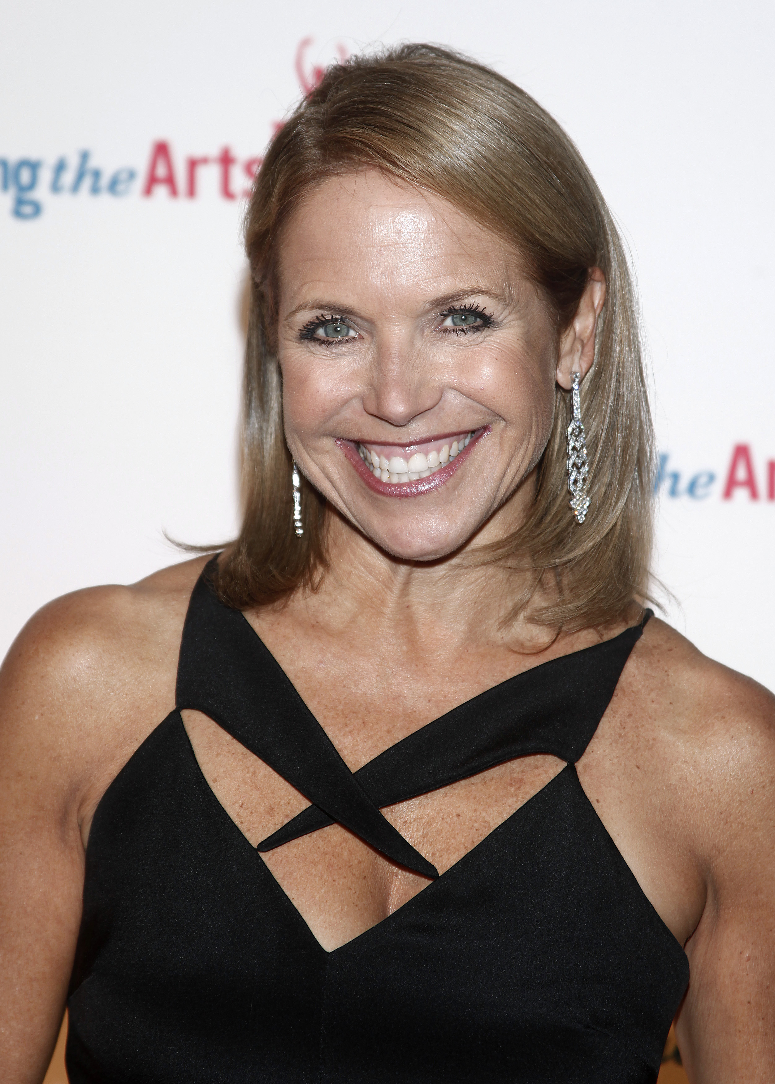 Katie Couric earned a  million dollar salary, leaving the net worth at 55 million in 2017