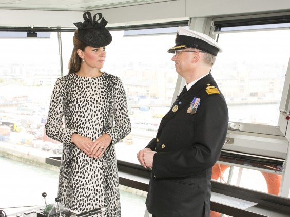 Kate Middleton The Duchess of Cambridge named Princess Cruises' newest ship Royal Princess