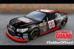 PHOTOS: Dale Earnhardt Jr. 'Man of Steel' Superman Car to Debut at Michigan NASCAR Race