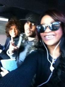 Whitney Houston, Nick Gordon, Bobbi Kristina Brown