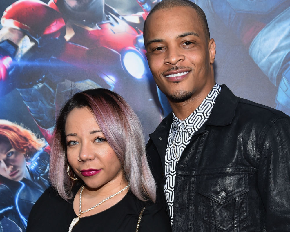 TI and Tiny Welcome Baby Girl, Lucky #7