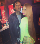 Wiz Khalifah and Amber Rose